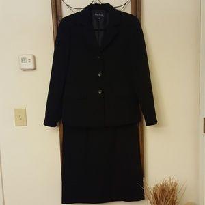 Professional black suit